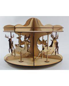 CoolKatz Reindeer carousel