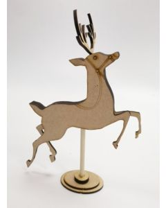 Free standing single reindeer