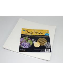 """12"""" x 12"""" Opaque white craft plastic- 25 sheets"""