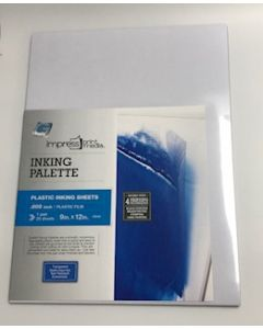"Grafix Plastic Inking Sheets .005 Inches 9""x12"""