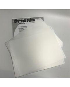 Matte Shrink Film 20 Sheets