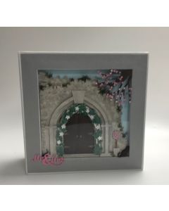 Story Frame Construction Album with Square Frame Archway