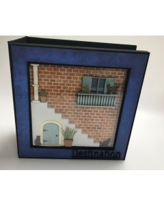 Story Frame Construction Album with Square Frame Alley