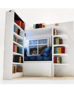 Book Nook Intrigue Window Reading Nook