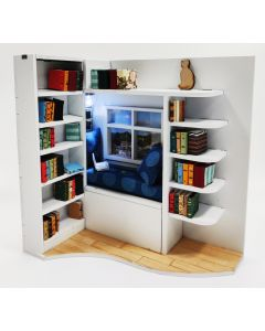 Window Reading Nook and Die Combo