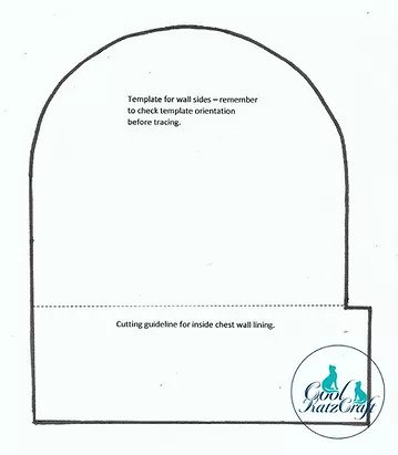 Here is a template of the Roll-Top Box Side
